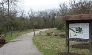 Walnut Creek greenway at Wetland Center