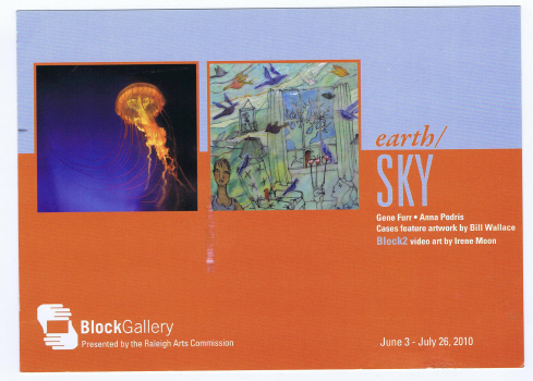 The current show at Block Gallery features imagined and photographed naturescapes.