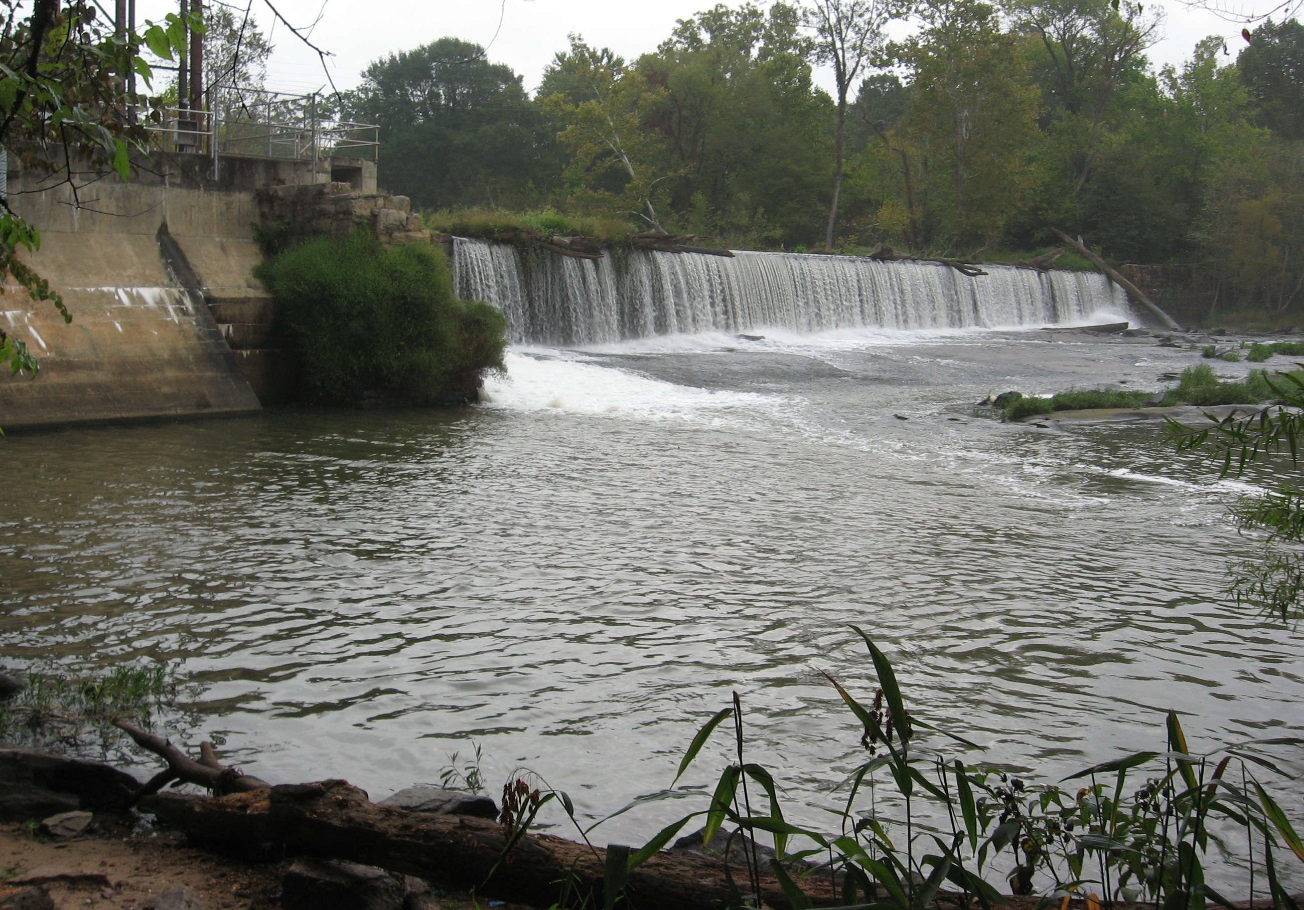 Milburnie dam removal moves forward raleigh nature for Fishing in raleigh nc