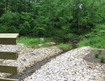 House Creek tributary joins at LakeBoone