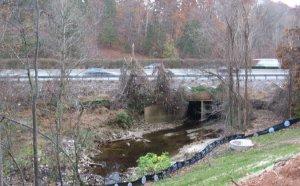 House creek Crosses the Beltline