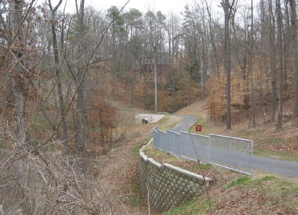 House Creek Trail beside Lake Boone_1_1