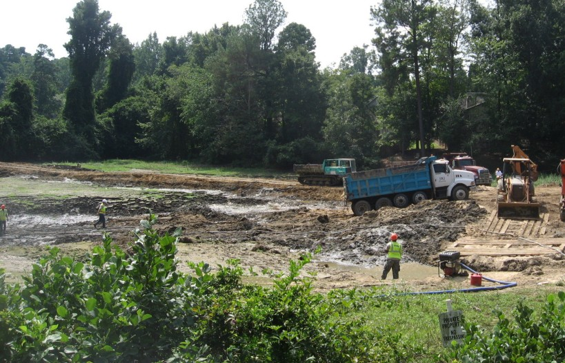 excavating Longview
