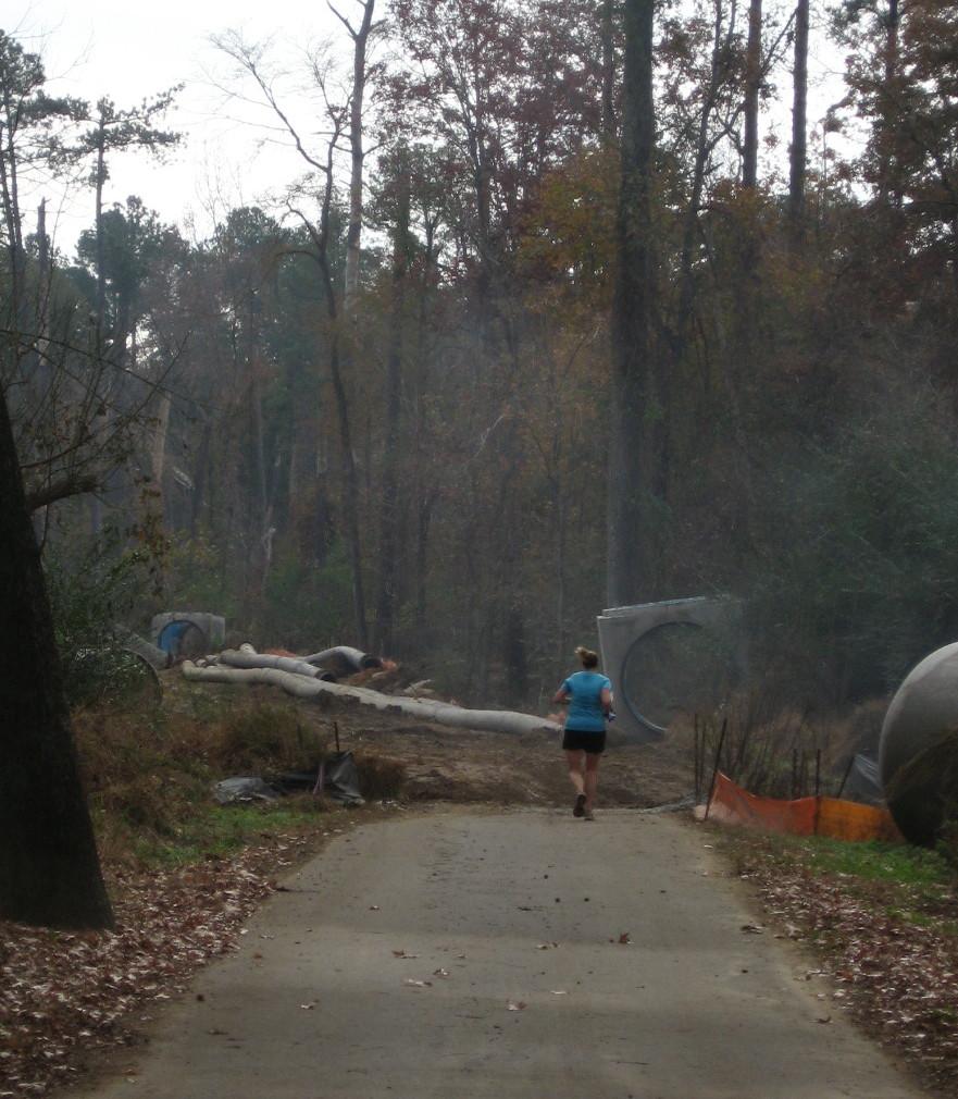 Buckeye jogger heads into construction site