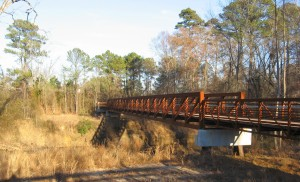 Crabtree bridge at Anderson