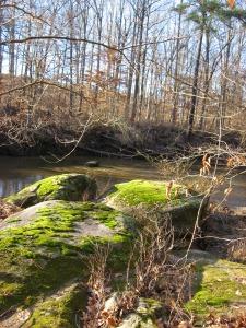 rocks by lower Crabtree